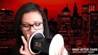ASMR Ear Licking Ear Consuming Ear Giving a kiss (3DIO)
