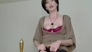 Mature Teacher Teaches You How to Jerk Off for the First Time