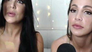 Two Girls ASMR on Webcam