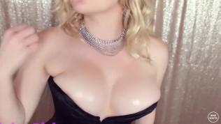 Busty Blonde Mature JOI