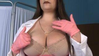 Busty Nurse Kelle Martina in Glasses