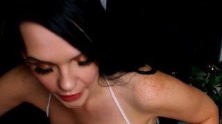 Topless Tik Tok Porn Star Leeannstar in Moaning NSFW ASMR