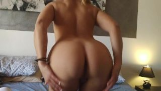Edging JOI and Cum Countdown with Blonde Babe in Glasses