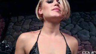 Small Tits Femdom Goddess in Kinky Cum Countdown