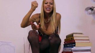 Busty Goddess Alexis Fawx in Taboo Kinky Stepmom JOI